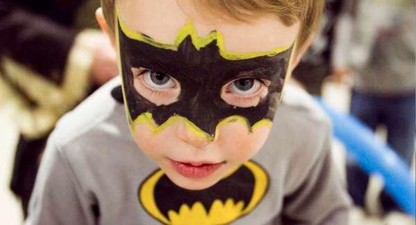 child-in-batman-facepaint